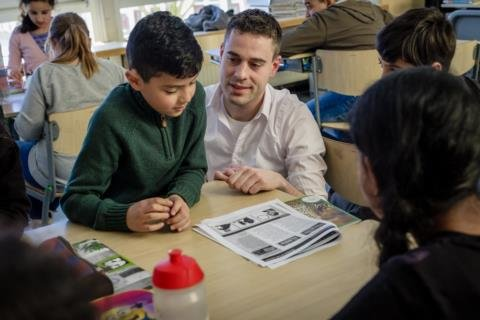 t_Jan Willem Beverwijk op de Agnesschool 3