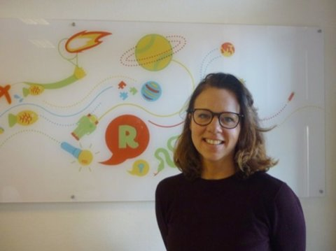 Marieke Leferink directeur van basisschool De Grote Reis