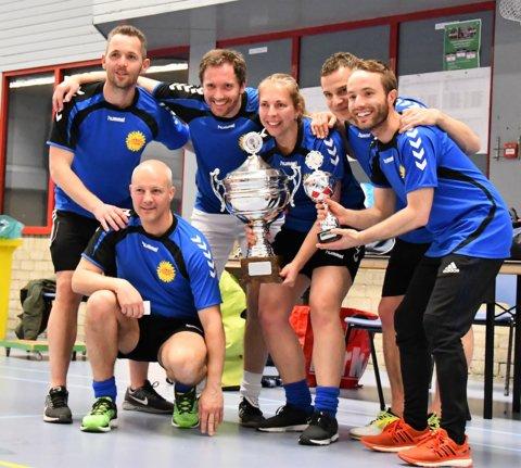 Winnaars het team van de Albert Scheizerschool