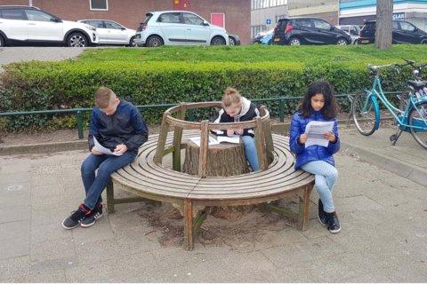 Leren bij daglicht en met frisse lucht