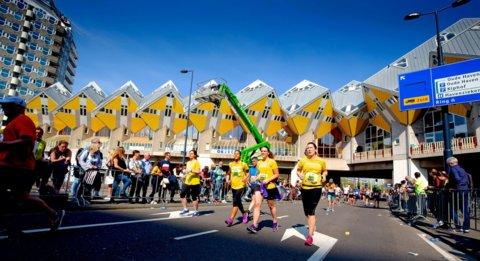 RVKO-lopers op weg naar de finish