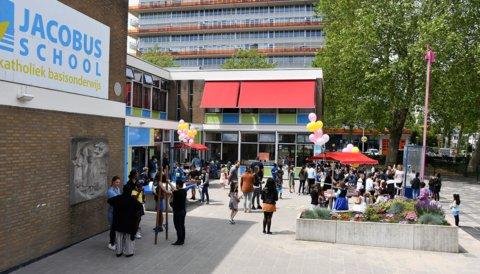 De Jacobusschool in Hoogvlliet