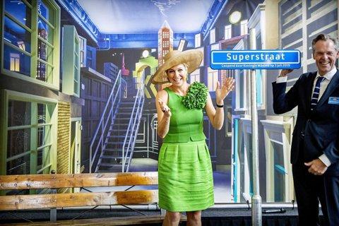 Koningin Maxima opent de Superstraat fotograaf Aad Hoogendoorn
