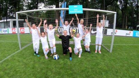 Het team van de Don Boscoschool scoorden 125 keer