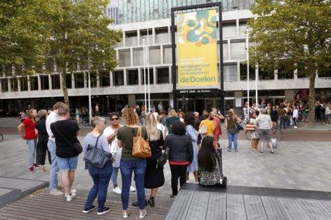 Zo'n 600 collega's bezochten de bijeenkomst in de Doelen in Rotterdam