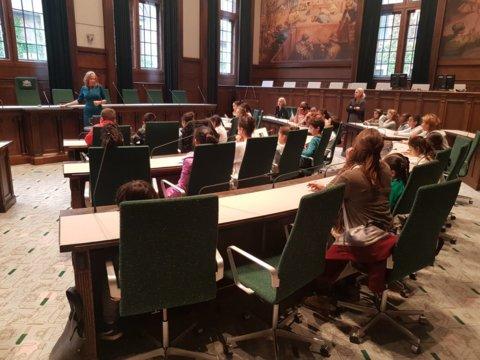 Een bezoek aan de Raadzaal van de gemeente Rotterdam