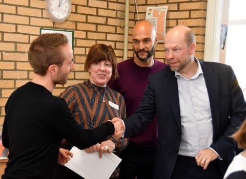 De Rotterdamse wethouder van armoedebestrijding Michiel Grauss