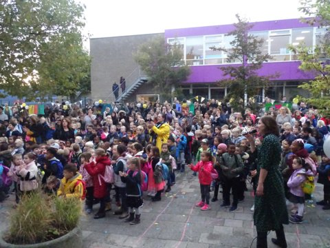 Met maar liefst twee weken feest vierde Montessorischool Capelle haar 45-jarig bestaan
