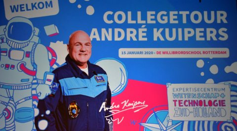 Collegetour Andre Kuipers