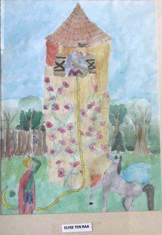 Rapunzel door Elyse